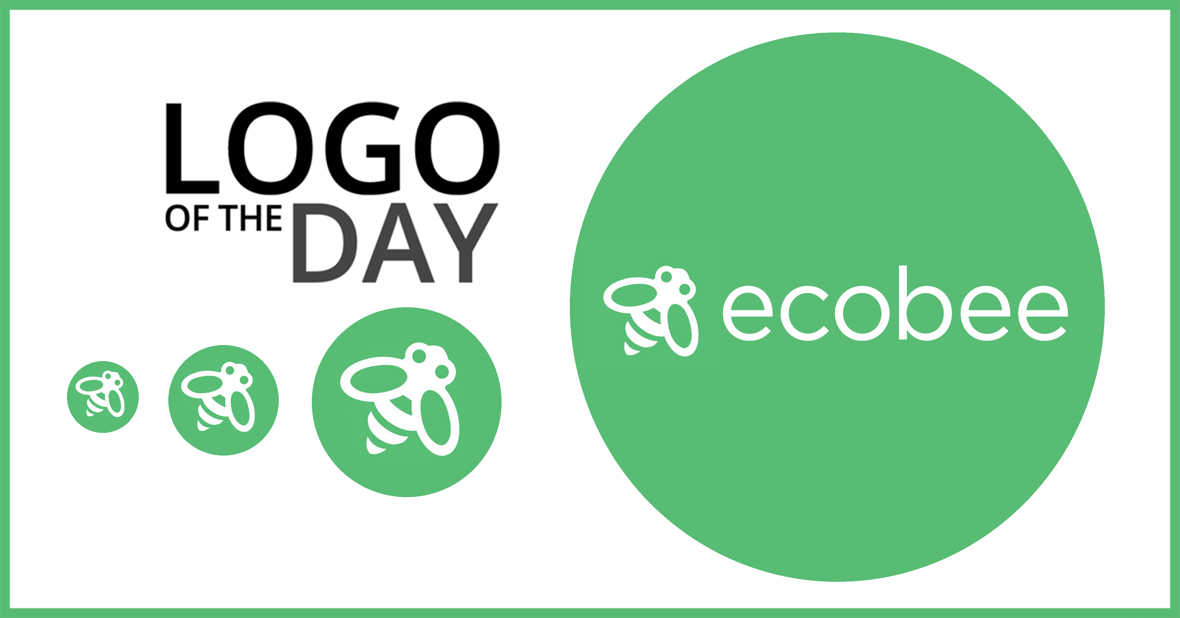 Ecobee: Logo of the Day, June 14, 2018.
