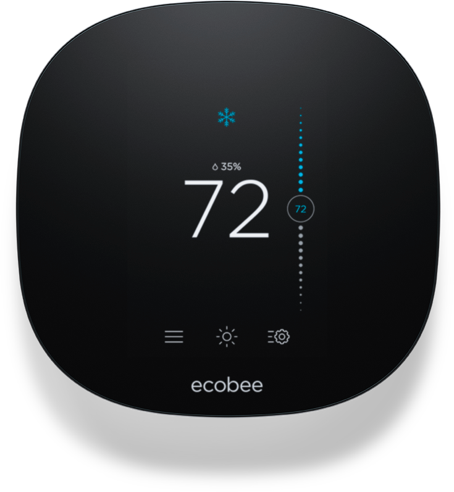 Smart home devices and thermostats.