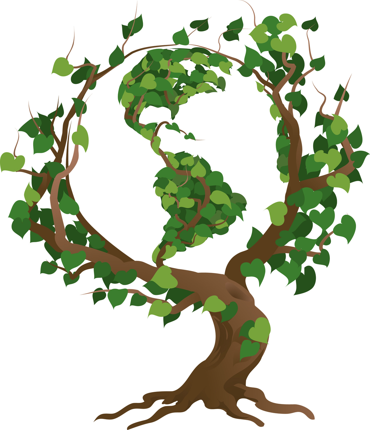 Eco Friendly Environment Clipart.