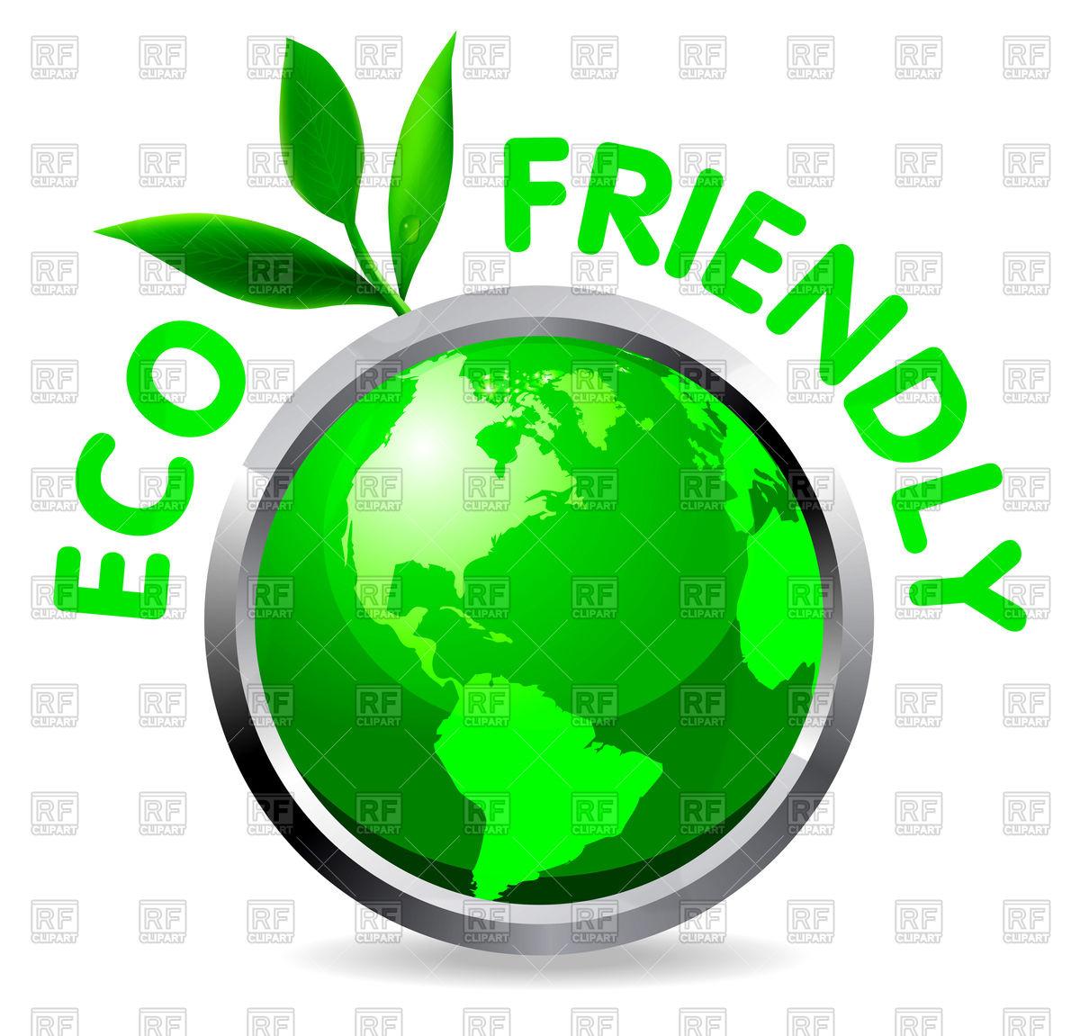 Eco friendly icon Vector Image #74442.