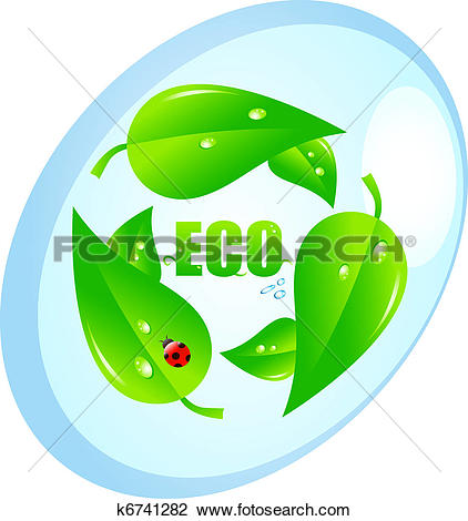Clipart of Ecologic concept k6741282.