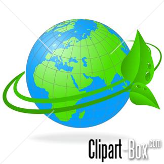 CLIPART GLOBE ECOLOGY.