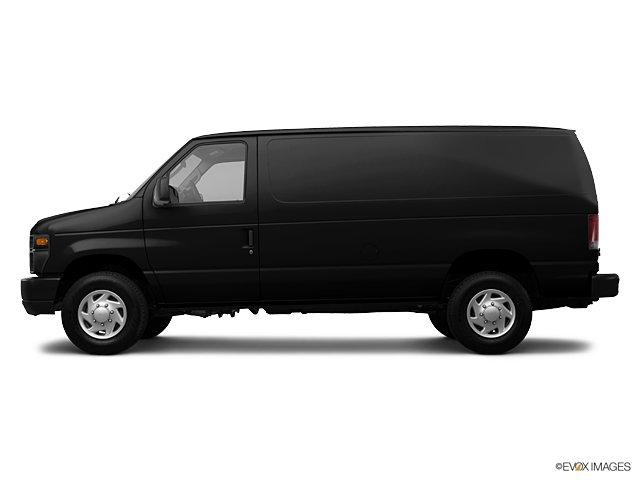 Black Ford Cargo Van.