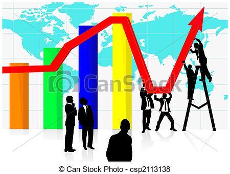 GDP Economic Clip Art.