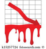 Economic collapse Clip Art Illustrations. 234 economic collapse.