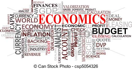 Economics clip art.