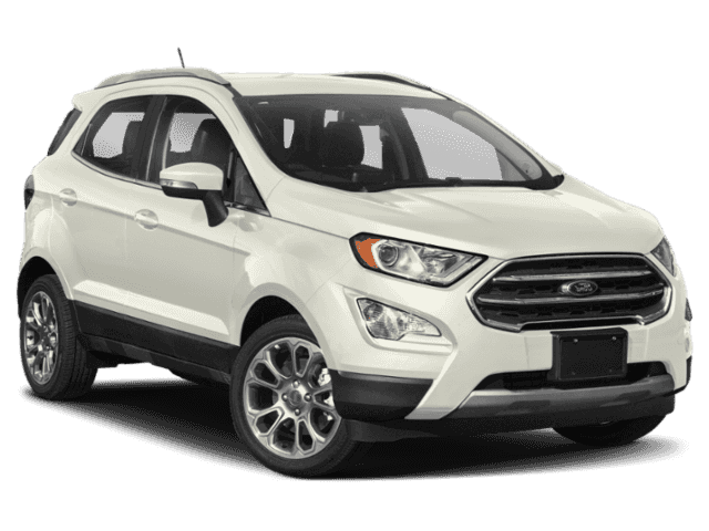 New 2020 Ford EcoSport S FWD 4D Sport Utility.