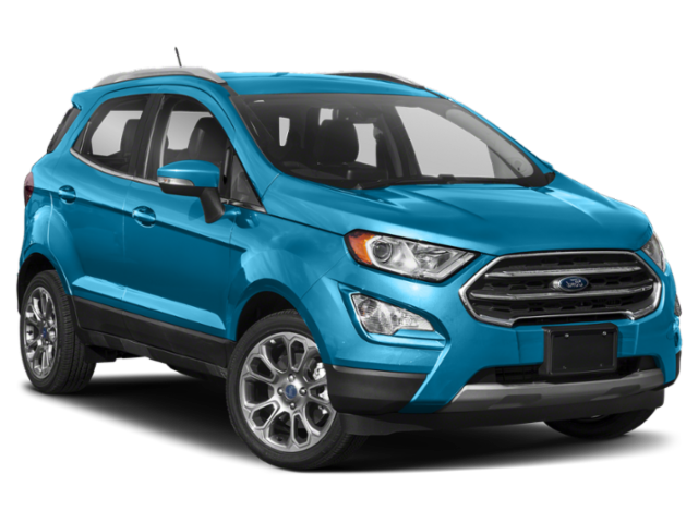 New 2019 Ford EcoSport SE 4WD.