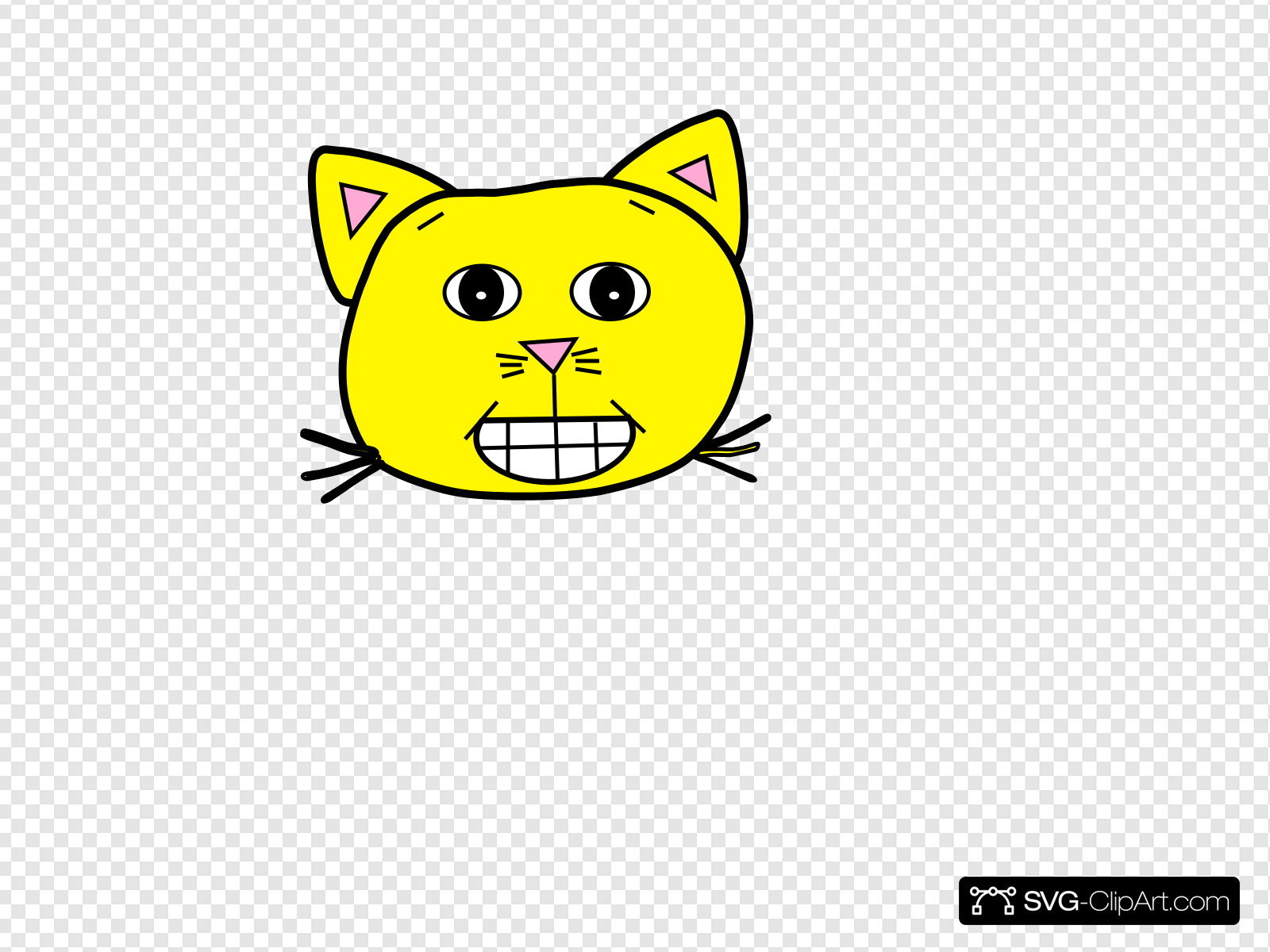 Ecstatic Yellow Clip art, Icon and SVG.