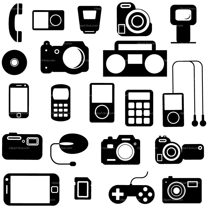 Electronics Clipart.