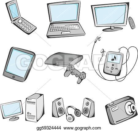 Electronics Clip Art.