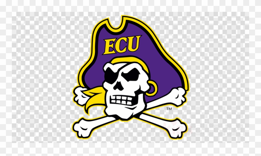 Download Ecu Logo Clipart East Carolina Pirates Football.