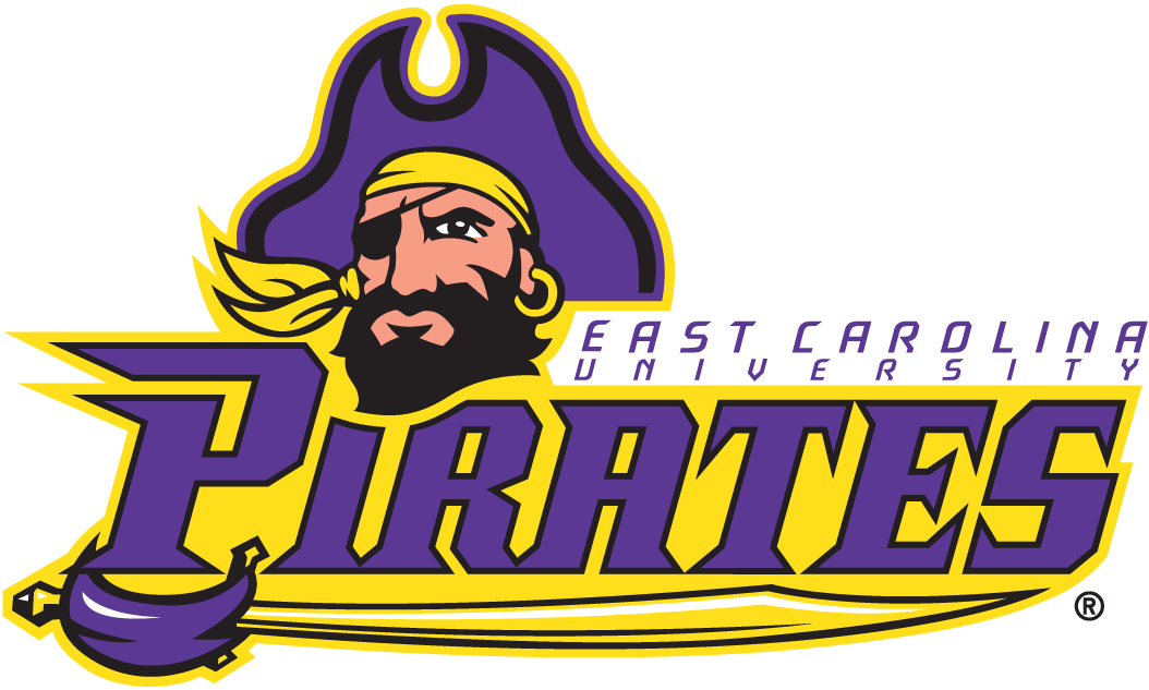 East Carolina Pirates Secondary Logo.