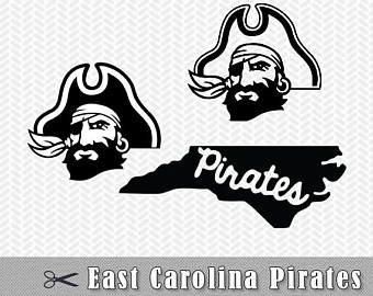 Download Free png ECU Pirates Logo SVG PNG Vect.