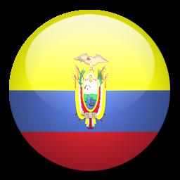 Button Flag Ecuador Icon, PNG ClipArt Image.