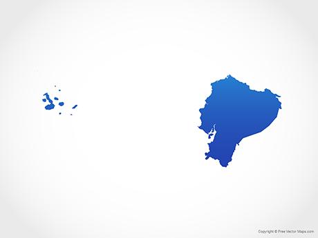 Vector Maps of Ecuador.