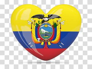 Flag Of Ecuador transparent background PNG cliparts free download.