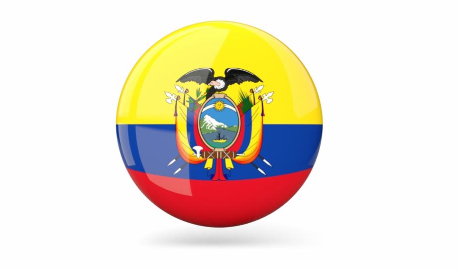 Ecuador Flag Png.
