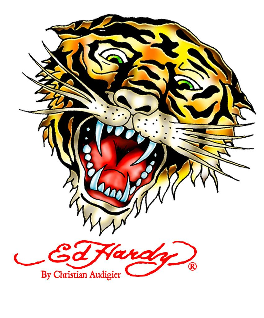 ed hardy Tiger.