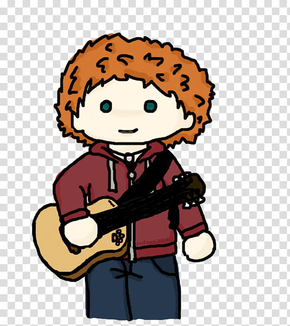 Ed Sheeran transparent background PNG clipart.