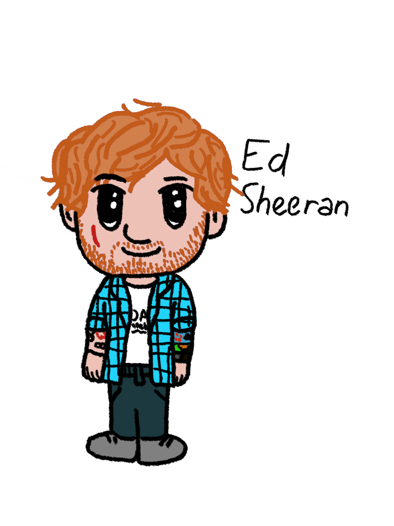 Ed Sheeran chibi by rainbowjazzy on DeviantArt.