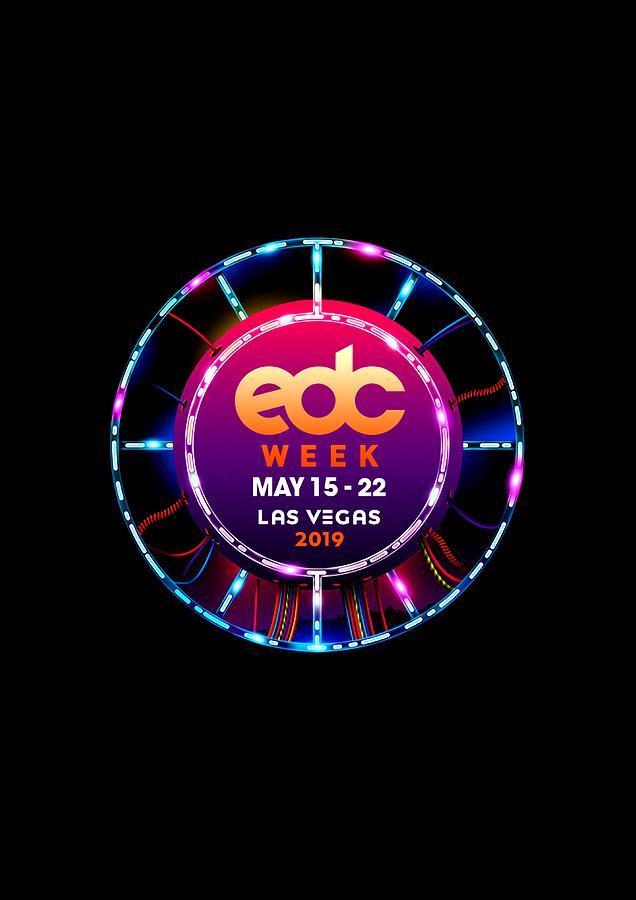 Edc Week Las Vegas Festival Logo 2019 Rainacode11.