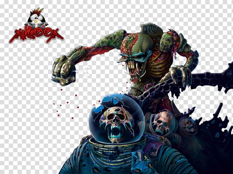 The Final Frontier Iron Maiden Album cover Eddie, Eddie iron.