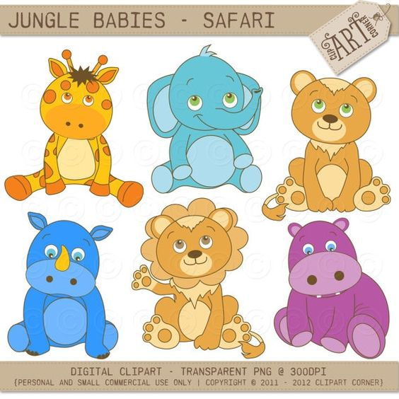 Jungle Animals Safari.