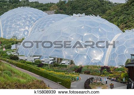 Stock Photograph of Eden Project. k15808939.
