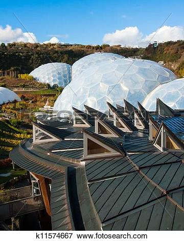 Picture of Eden Project Cornwall k11574667.