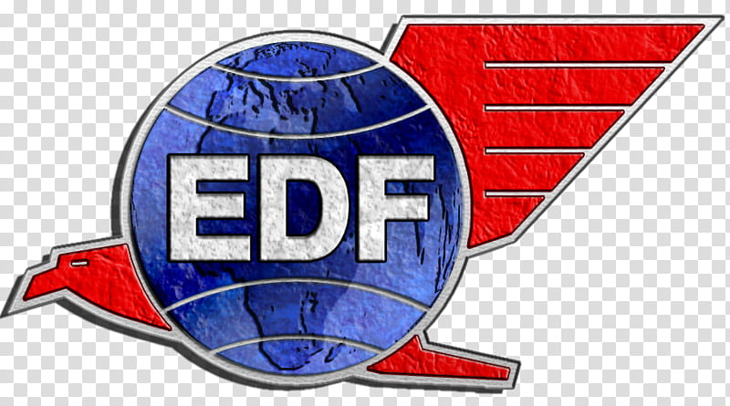 EDF Logo transparent background PNG clipart.