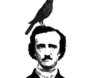 Raven clipart poe.