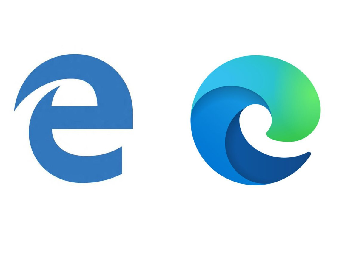 Microsoft unveils the new logo for its Edge browser.