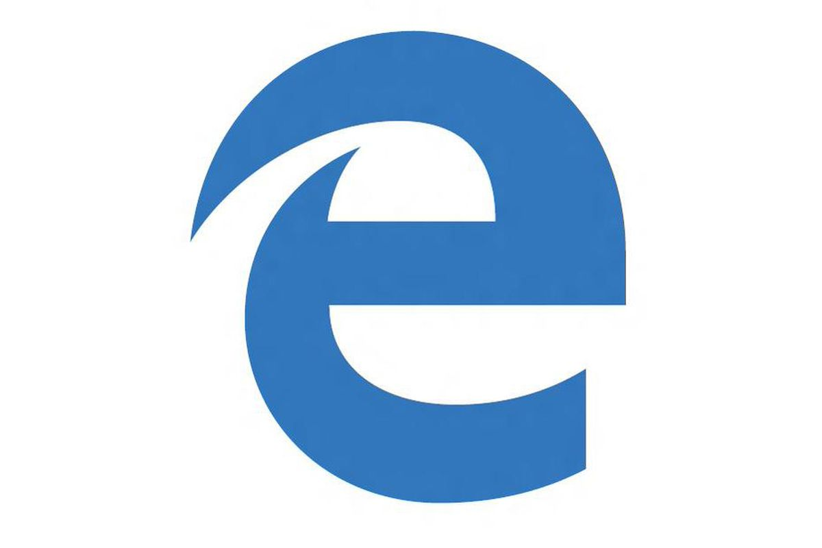 Microsoft\'s Edge logo clings to the past.