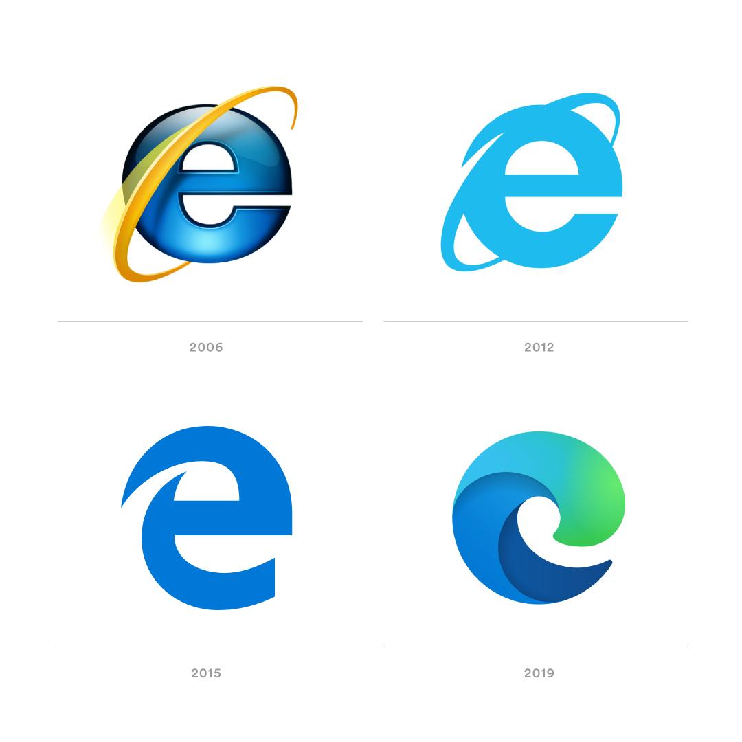 Do you like the new Microsoft Edge logo? : Design.