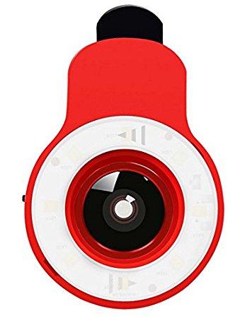 Amazon.com : RK09 LED Ring Selfie Light Selfie Enhancing.