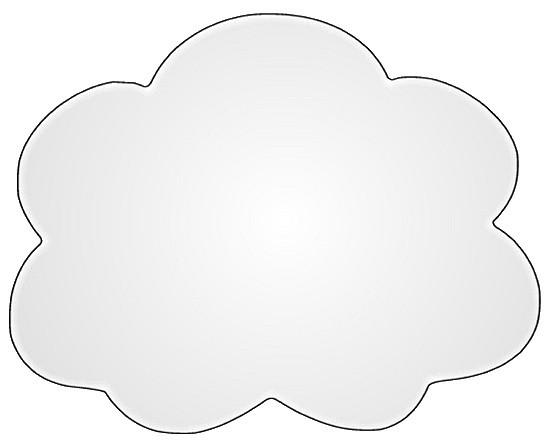 cloud light, black edge sketch clipart, _OP, PD 14 cm wide….