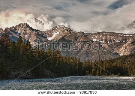 Rocky Mountains Stock Photos, Royalty.