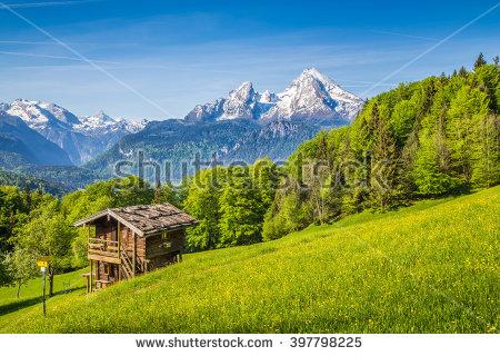 Alps Summer Stock Photos, Royalty.