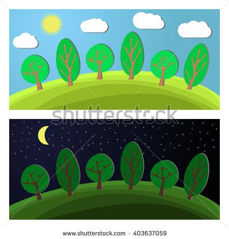 Forest Edge Stock Vectors, Images & Vector Art.