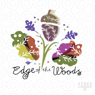 Exclusive Customizable Logo For Sale: edge of the woods.