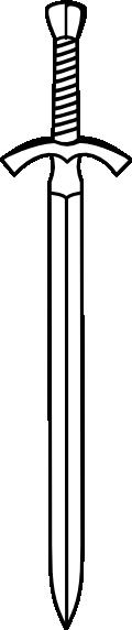 D V D Two Edged Sword Clip art.