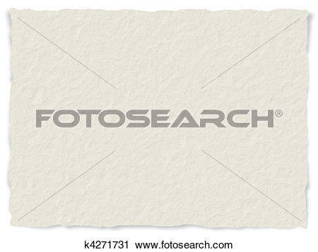 Clipart of Paper texture, frayed edges k4271731.