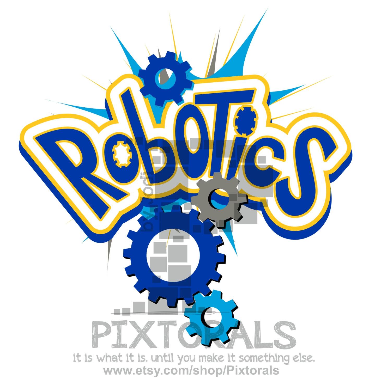 Robot clip art.