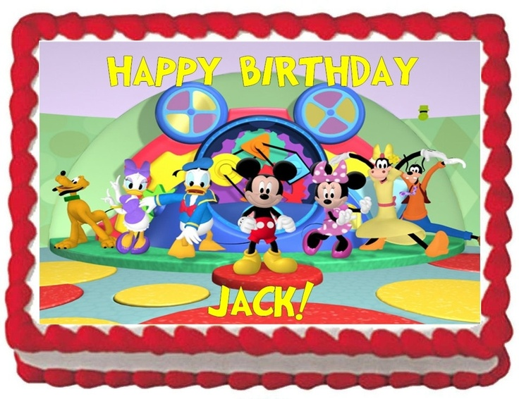 25+ best ideas about Mickey Mouse Cake Images on Pinterest.