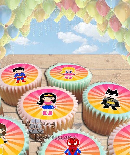 10 bästa bilder om Superhero Birthday Cakes på Pinterest.