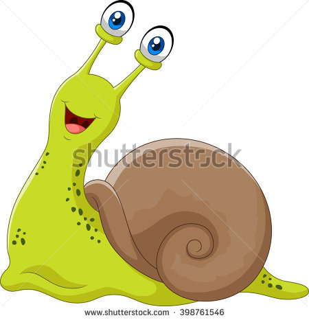 Snail Stock Photos, Royalty.