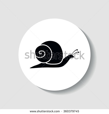 Edible Snail Stock Vectors & Vector Clip Art.
