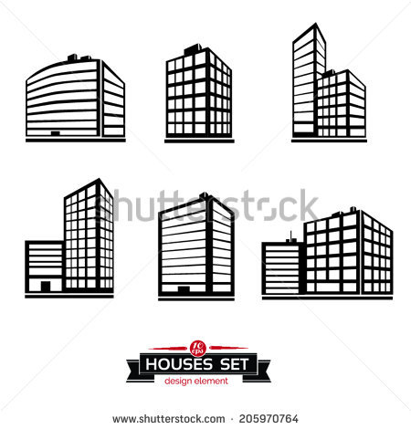 Large Office Building Stock Photos, Royalty.