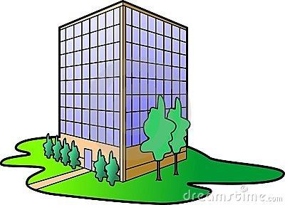 Office Building Stock Illustrations.
